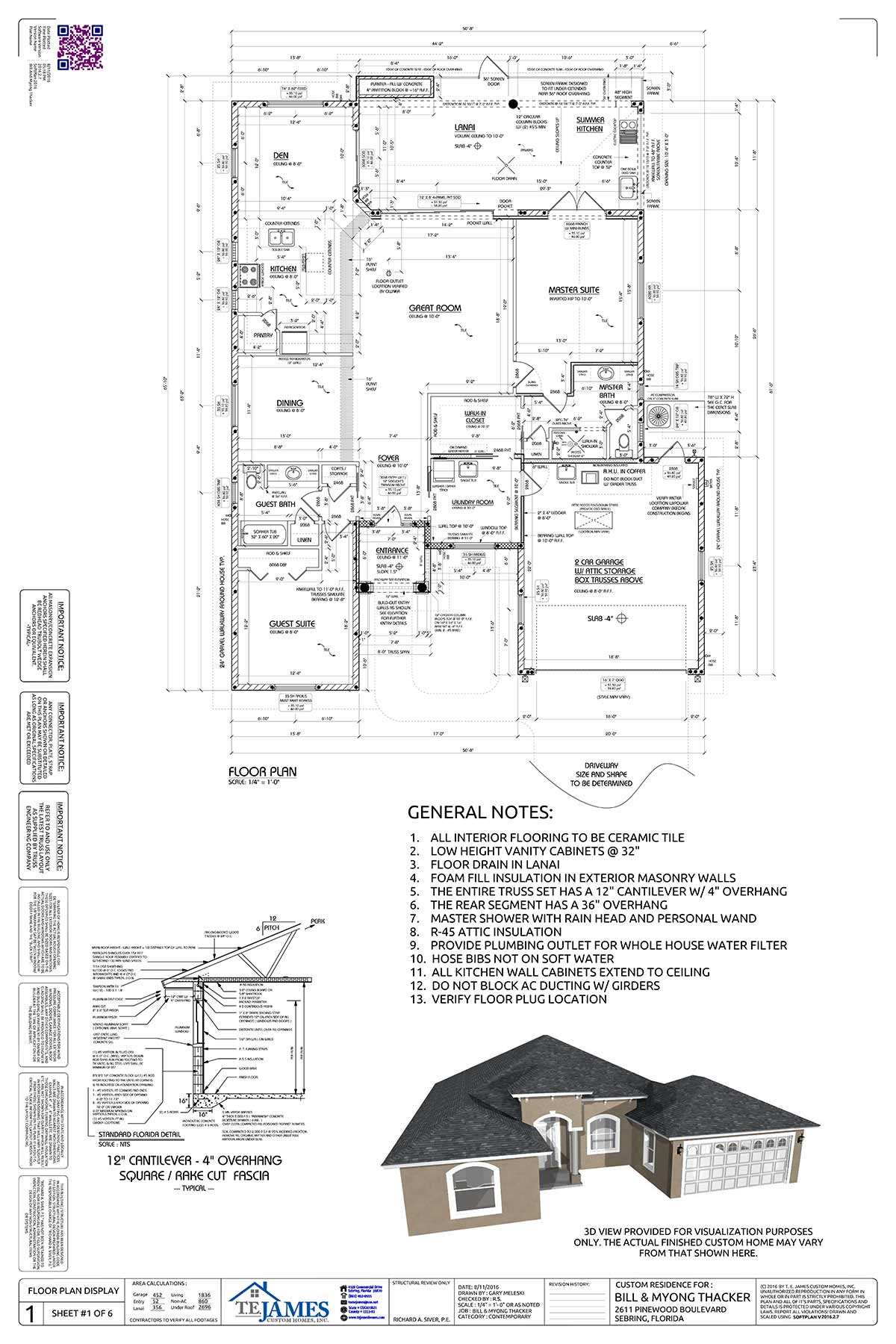 Typical Floor Plan Page